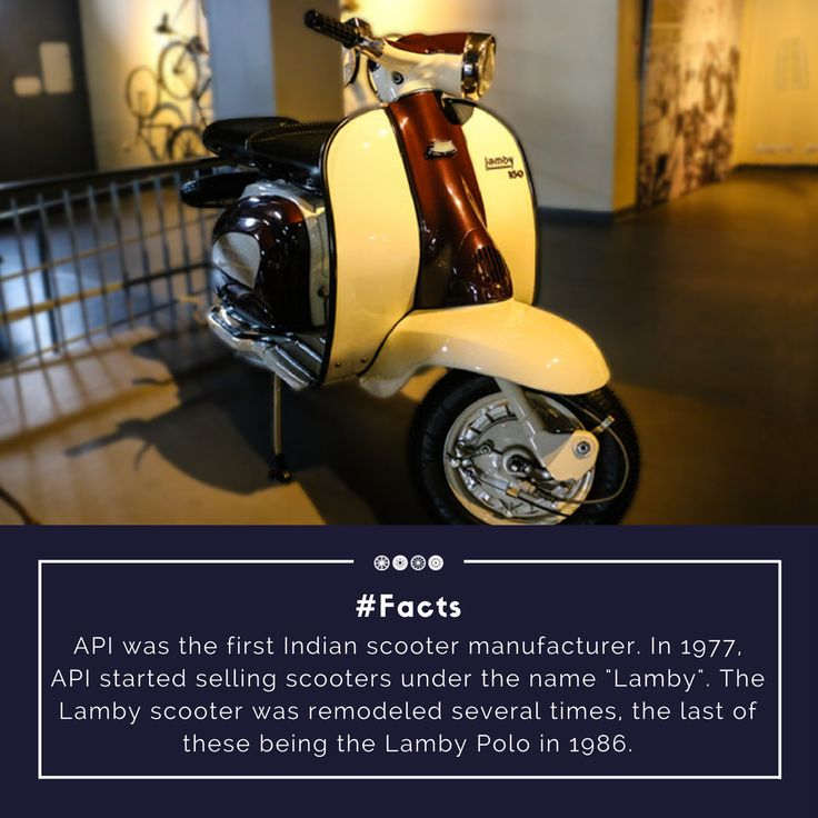A 148 cc Lamby 150 scooter displayed at the two-wheeler section of the museum!  #factfriday #doyouknow #facts #lamby #vintagescooter #vintagecollection #vintagetransport #transportmuseum
