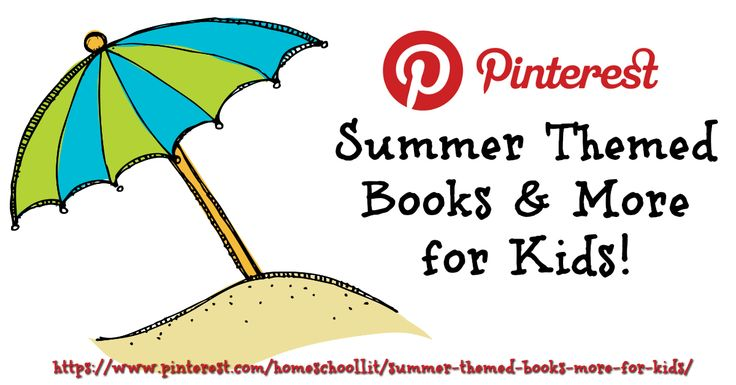 17 Best Images About Summer Themed Books & More For Kids