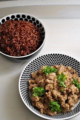 Minced meat miso sauce | Yummy | Pinterest