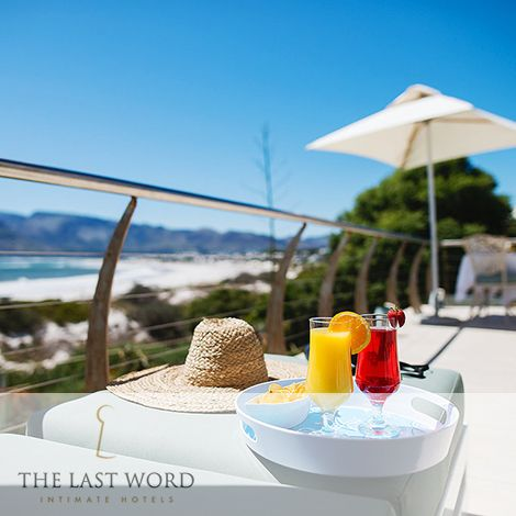 Summer cocktails and crisps on the oceanic terrace at The Last Word Long Beach. Join us while we chase summer.