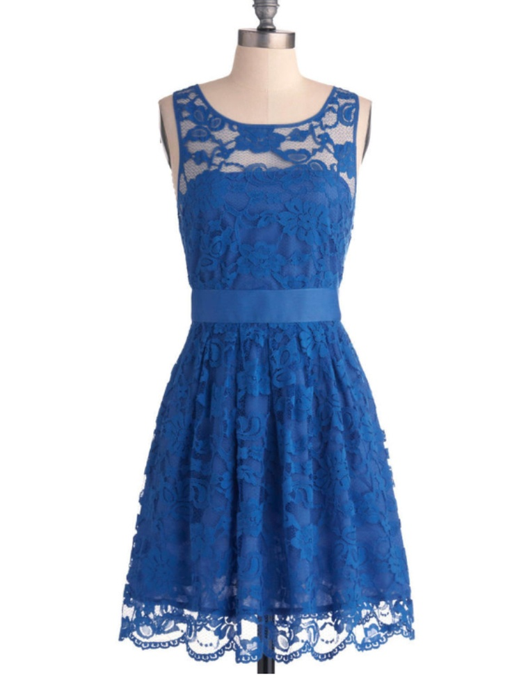 Images of Cute Blue Dresses - Reikian
