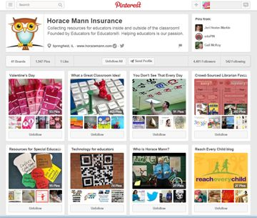 Join #PinChat tonight at 9PM ET on Twitter.  We will discuss Pinterest brand strategy with Horace Mann Insurance.