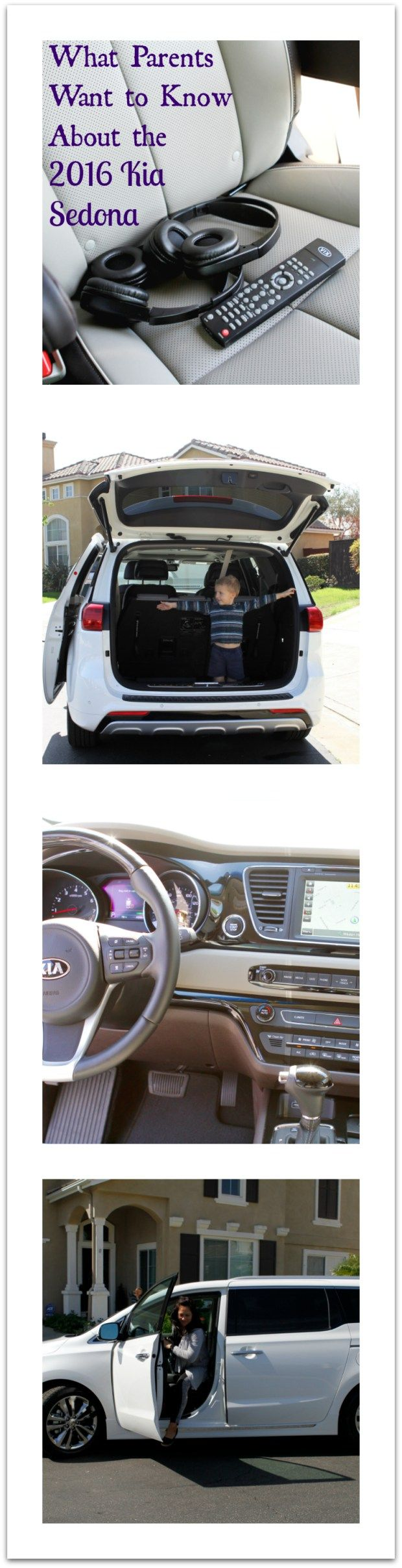 If you have 2 or more kids a minivan may be in your future we re looking for a vehicle that seats 6 or more so we test drove kia sedona sxl