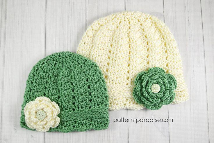 301 mejores imágenes sobre Crochet hats en Pinterest | Patrón gratis ...