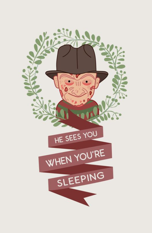 Freddy Krueger Christmas by Big Purple Glasses