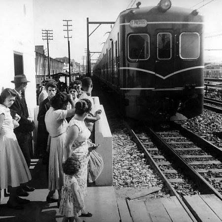 1958 - Estrada de Ferro Sorocabana, no bairro da Lapa.