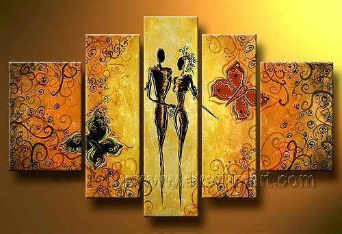 fasci-arte: Pinturas africanas | cuadros de africanas | Pinterest