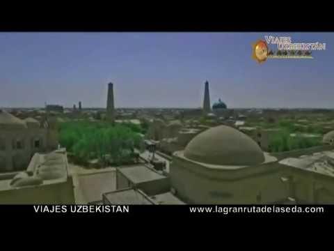 Jiva(Khiva), Uzbekistán - La ciudad-museo en el aire libre en camino la ...