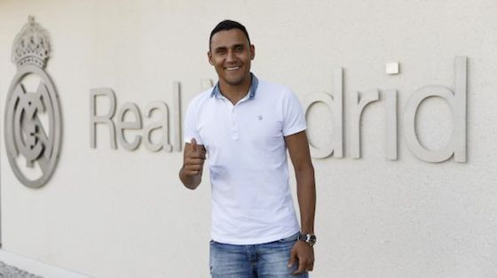 El Arquero Cristiano Keylor Navas Llega al Real Madrid ->   http://soloparatiradio.com/?p=7652 - #Realmadrid @Keylornavas - twitter via @soloparatiradio