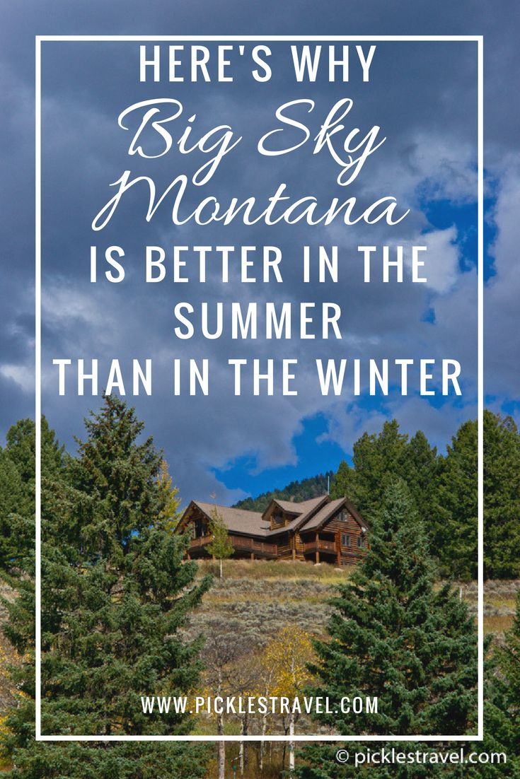 """Big Sky Montana is great for downhill skiing but it's an even better outdoor adventure destination in the summer. You can fly fish, hike, and you'll never guess what other cool activities you'll find in this phenomenal """"out west"""" road trip destination!"""