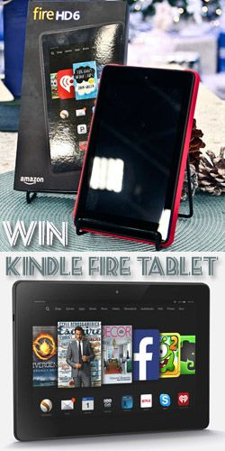 Win a Kindle Fire Tablet