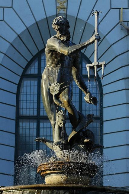 Eastern Europe, Statue of Neptune, Gdansk, Poland