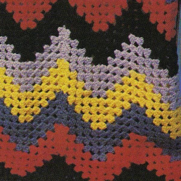 215 Best Crochet Granny Ripple Images On Pinterest Crochet