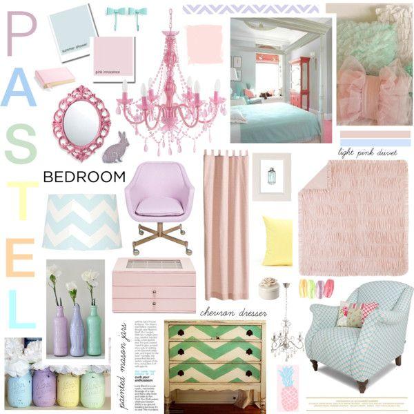 Pinterest for Bedroom inspiration pastel