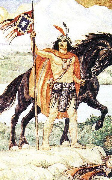 Lautaro // Destacado líder militar mapuche en la Guerra de Arauco durante la primera fase de la conquista española de Chile.