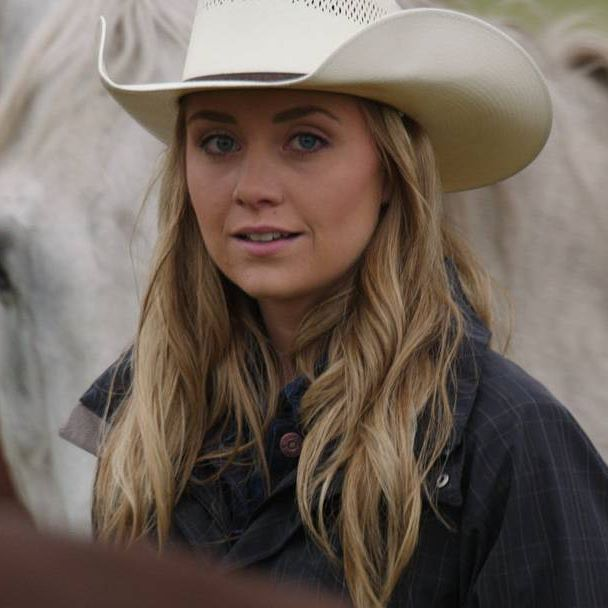 "Countdown to Season 9! Through the eyes of Ty. In 810, ""The Heart of a River"", the wild horses at Pike River are eventually set free and Ty once again sees in Amy the woman he fell in love with. They re-announce their engagement! Aunt Crystal is busted by child services so Georgie stays at Heartland #iloveheartland #framesofheartland"