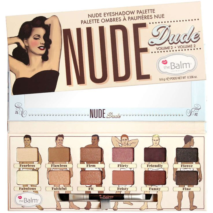 Palette Nude Dude the Balm