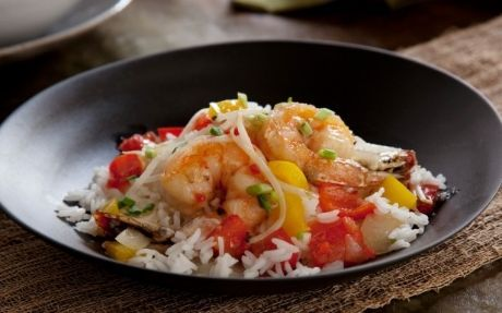 Healthy sweet and sour king prawn stir-fry Recipe by Ching-He Huang