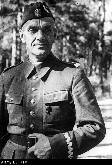 Zygmunt Berling - Polish General who commanded the 1st Tadeusz Kościuszko Infantry Division in the Battle of Lenino, and later the First Polish Army in the Warsaw Uprising and the Liberation of Poland during World War II.