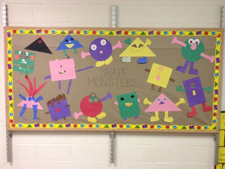 Classroom Pe Ideas : Preschool bullentin board ideas time to shape up via pe