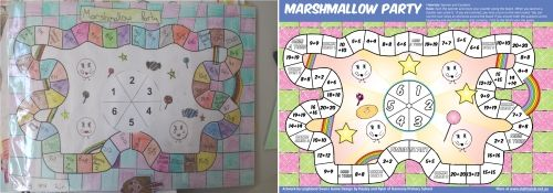 FREEBIE - Fro Paul Swan & Students - Doubles game - Marshmallow Party