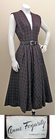 1940s Dresses - 1950s Dresses - 1950s Fashion /Past Perfect Vintage
