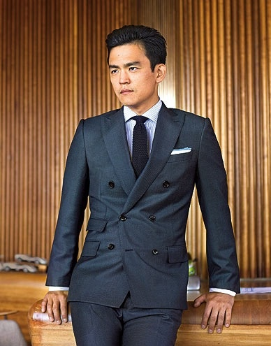 John Cho- this crush has gone on for almost 15 years, definitely anticipate it going on for 15 more.