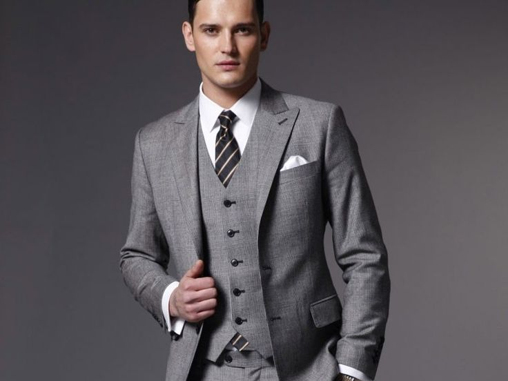11 best Light Gray suits images on Pinterest | Light grey suits ...