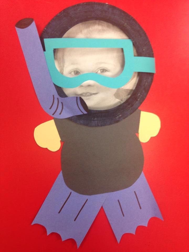 Classroom Theme For Preschool ~ Scuba diver craft daycare crafts and bulletin boards