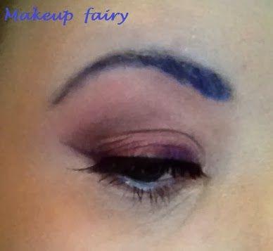 Makeup fairy #7daysmakeupnails #christmasmakeup http://tinklesmakeup.blogspot.it/2013/12/7daysmakeupnails-7.html