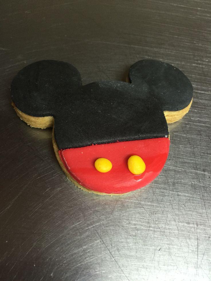 Mickey Mouse galleta de mantequilla