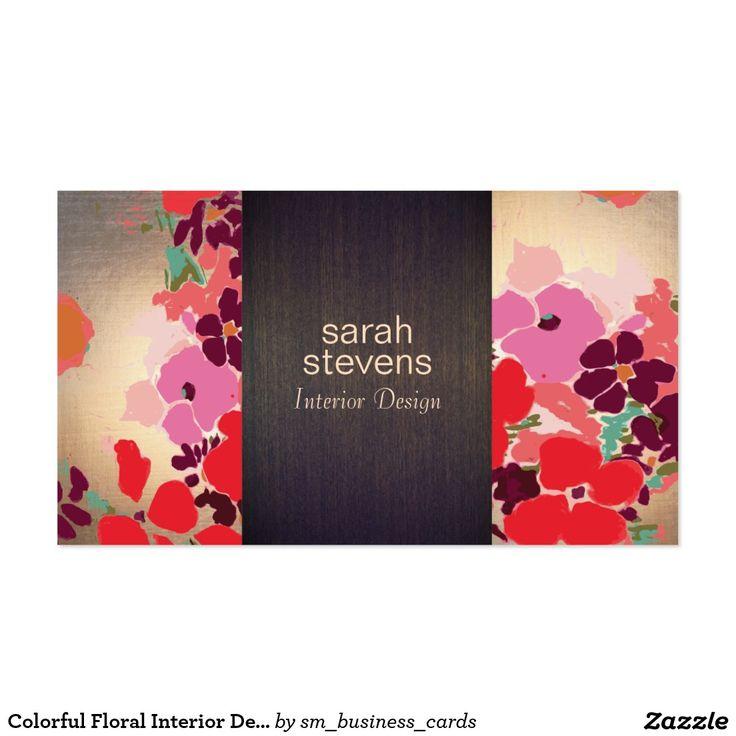 97 best Business Cards: Interior Designer images on Pinterest