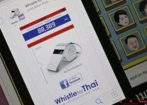 Teknologi Ponsel Bantu Demo Oposisi di Thailand