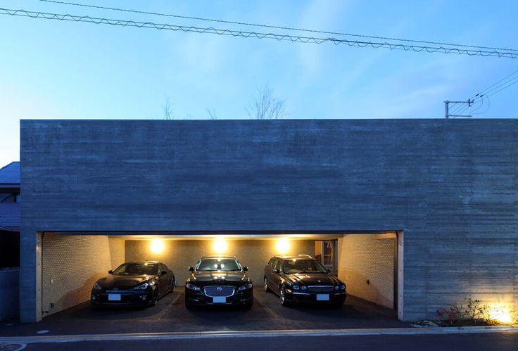 ガレージハウス 立体的な庭を内包する家 アーキッシュギャラリー
