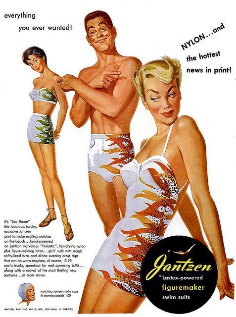 1950's Jantzen ad   Illustrator: TBD