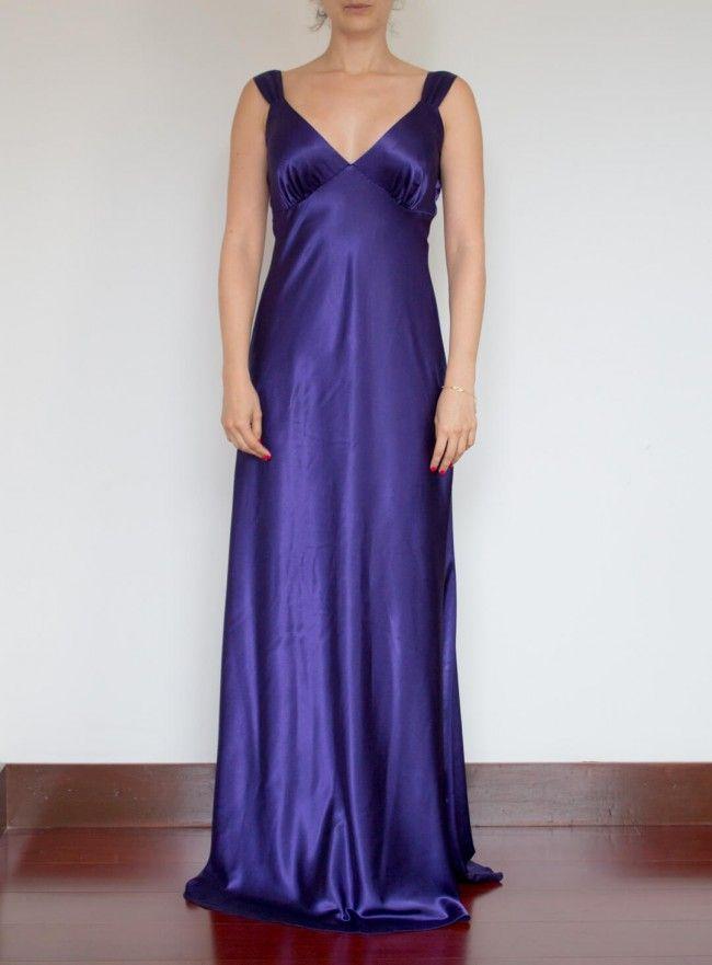 Mejores 51 imágenes de Vestidos Largos en Pinterest | Escote ...