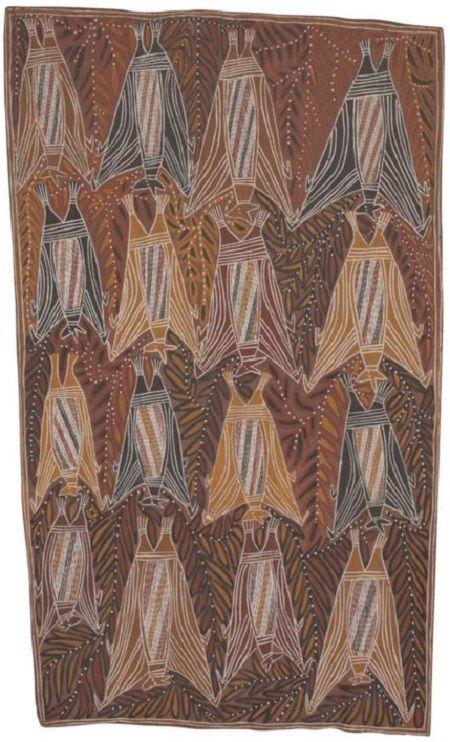 Aboriginal art Megabats, Flying-foxes, Fruit bats