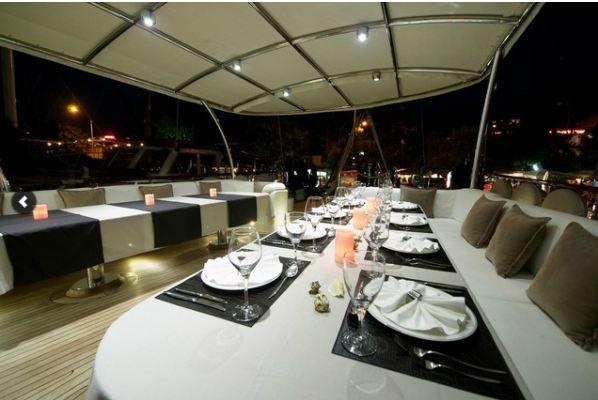 Alessandro Sailboat in Greece - Dinner