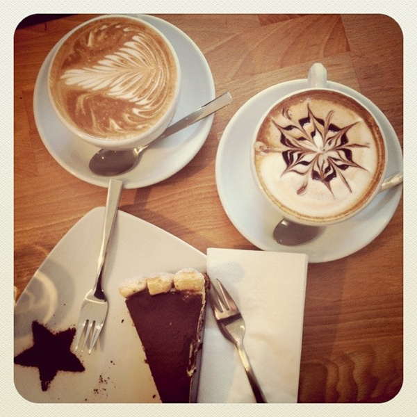 I love coffee art