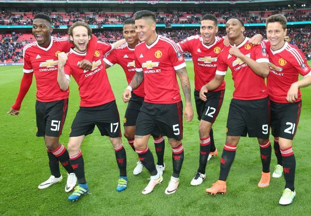 Were the famous Man Utd and were going to Wembley