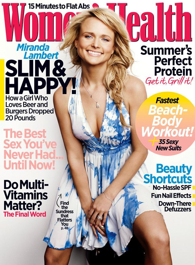 Miranda Lambert Reveals Her Favorite Body Part Post-Weight Loss, Shares Guilty Food Pleasure   E! Online Mobile