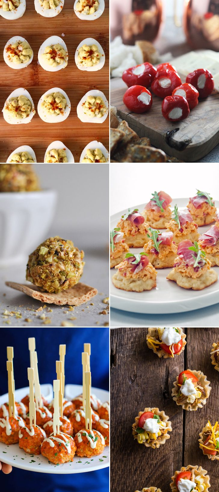 20+ Finger Food Recipes Perfect for Cocktail Parties - I love this! For Britt's b-day... Maybe.