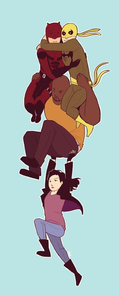MARVEL: The Defenders by avataraandy.deviantart.com on @DeviantArt