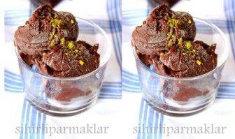 Bitter Çikolatalı Dondurma Tarifi