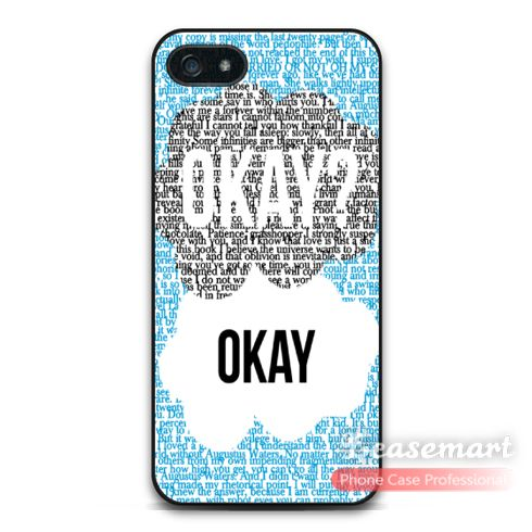 This is nice, check it out!   Okay OK Cover Case For iPhone 6 6 Plus 5 5s 5c 4 4s iPod 5 The Fault In Our Stars Quote Protective Matte Cover - US $2.99 http://myphonesshop.com/products/okay-ok-cover-case-for-iphone-6-6-plus-5-5s-5c-4-4s-ipod-5-the-fault-in-our-stars-quote-protective-matte-cover/