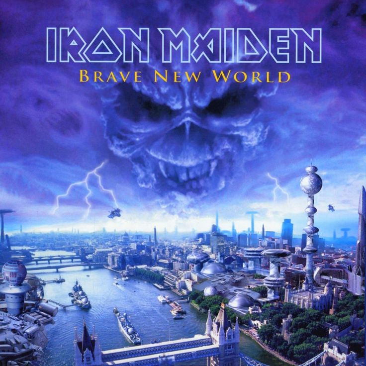 Iron Maiden: Brave New World album artwork