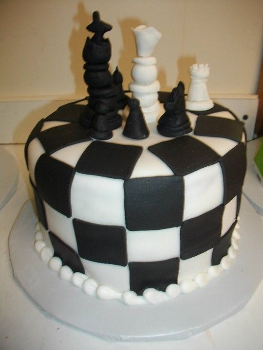 Chess Board Cake Images