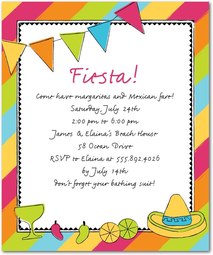 65 best Birthday party ideas 21 images on Pinterest Mexican - baby shower templates for word