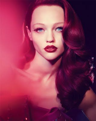 like the blending of colors here.Jessica Rabbit, Real Life, Red Hair, Red Lips, Sasha Pivovarova, Redheads, Redhair, Camilla Akrans, Red Head