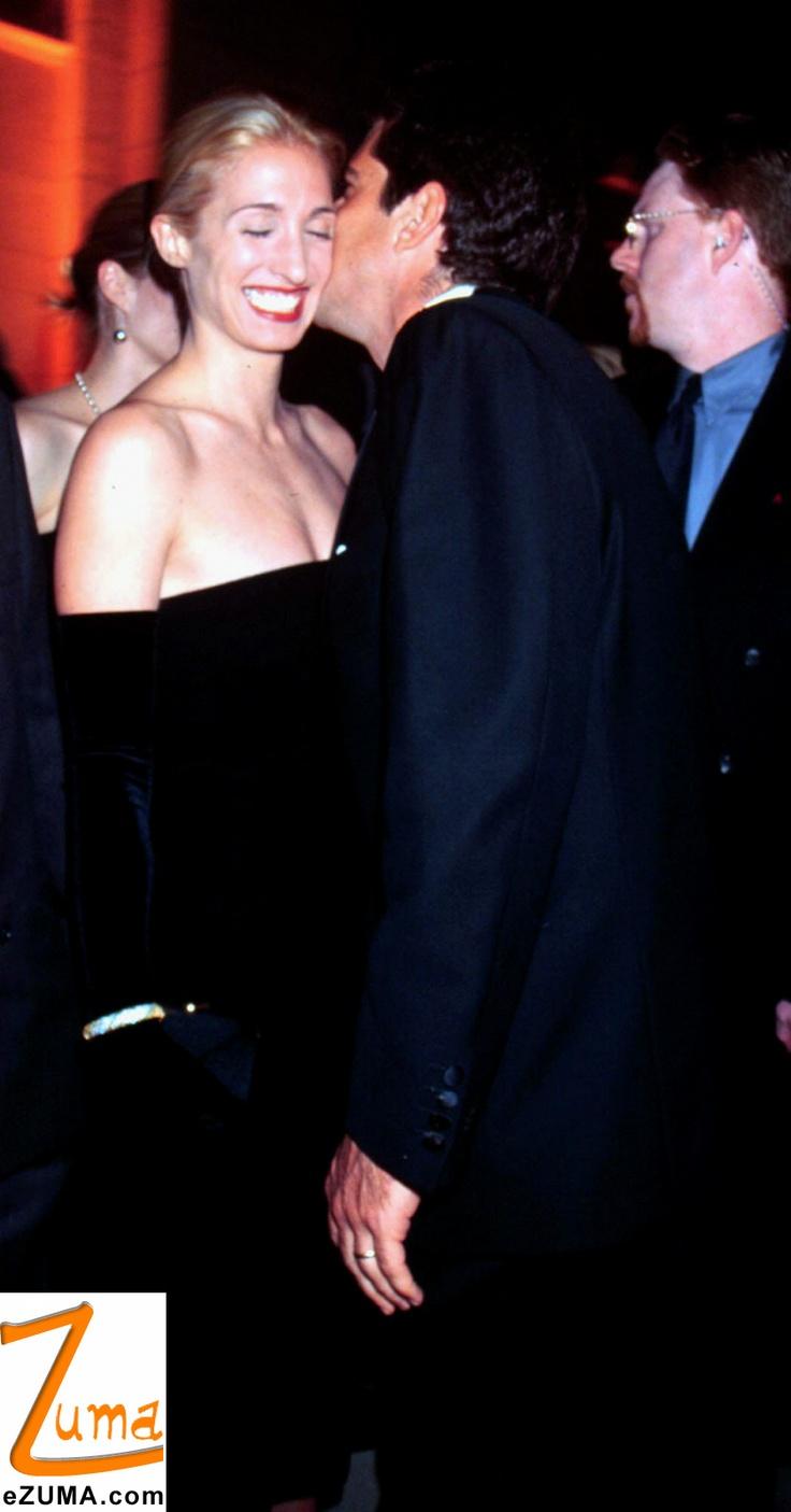JFK, Jr. and Carolyn Bessette